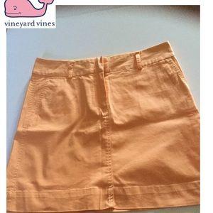 Vineyard Vines SZ 8 mini skirt cotton/spandex